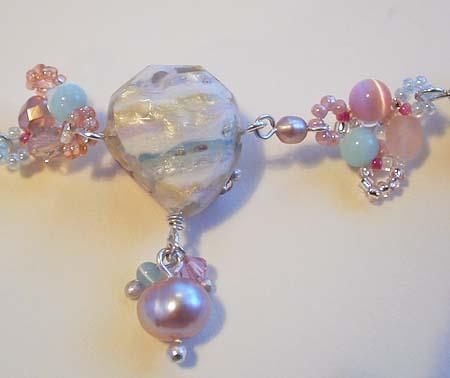 天然石 樹脂 resin jewelry ガーリー 上品 姫 ピアス ロココ 花 通販 オーダー